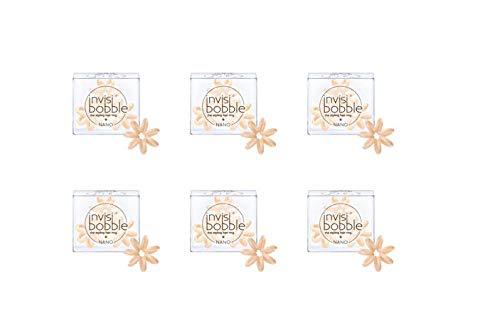 Invisibobble Nano Lot de 3 paquets de 6 élastiques à cheveux