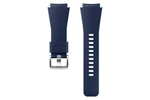 SAMSUNG Cinturino in Silicone (22mm) per Galaxy Watch 46mm, Blu