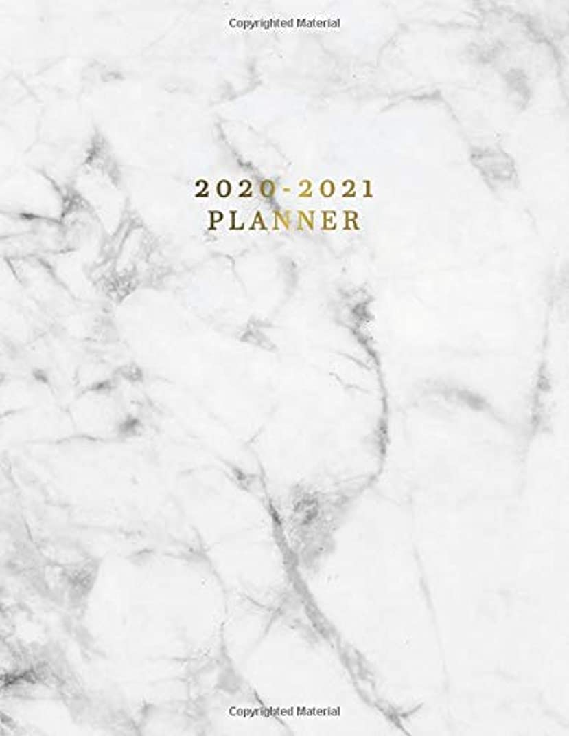 添付空港ぐったり2020-2021 Planner: Nifty 2 Year Daily Weekly Planner & Organizer with To-Do's, Inspirational Quotes, Notes & Vision Boards | Marble & Gold Two Year Agenda Schedule Notebook & Business Calendar
