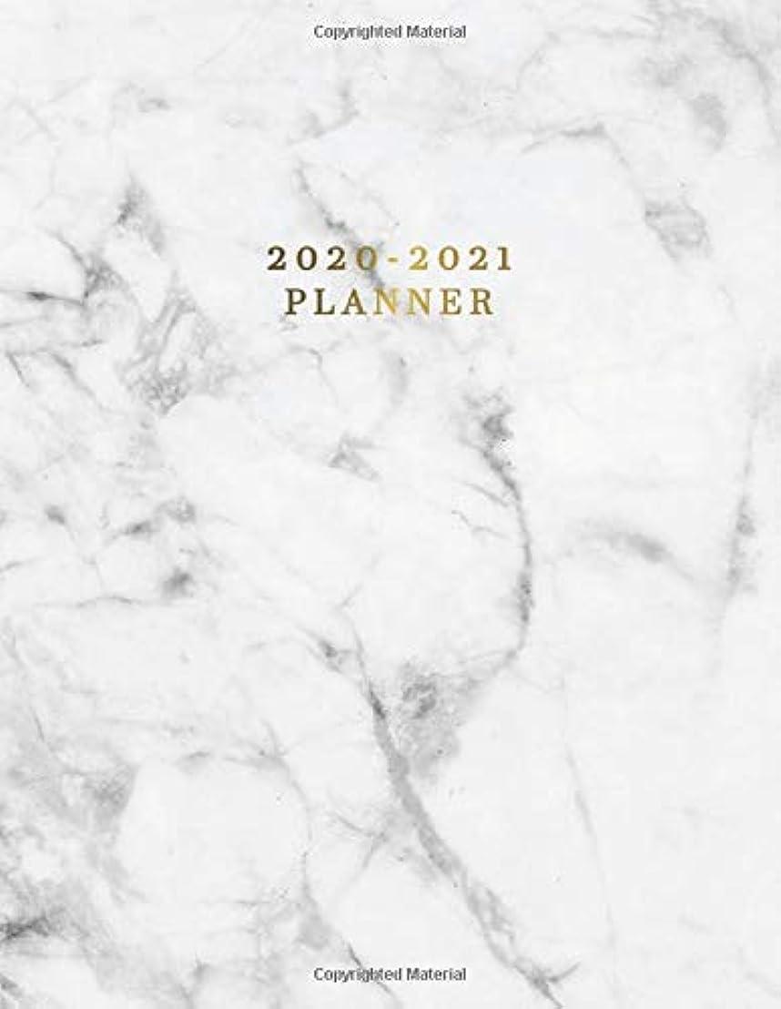 ブルゴーニュ集めるタイマー2020-2021 Planner: Nifty 2 Year Daily Weekly Planner & Organizer with To-Do's, Inspirational Quotes, Notes & Vision Boards | Marble & Gold Two Year Agenda Schedule Notebook & Business Calendar