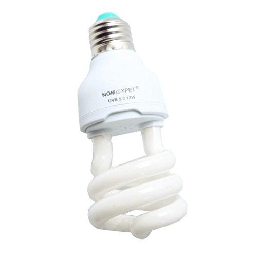 Sharplace E27 13w Calcium Léger Tortue De Lézard Reptile UV Uvb Ampoule Chauffage Lampe pour Reptile Animal Vivarium Terrarium