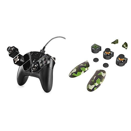 Thrustmaster ESWAP X PRO Controller: (Xbox One, Series X|S and Windows) with Thrustmaster Eswapx Green Color Pack (Xbox One, Series X|S and Windows)