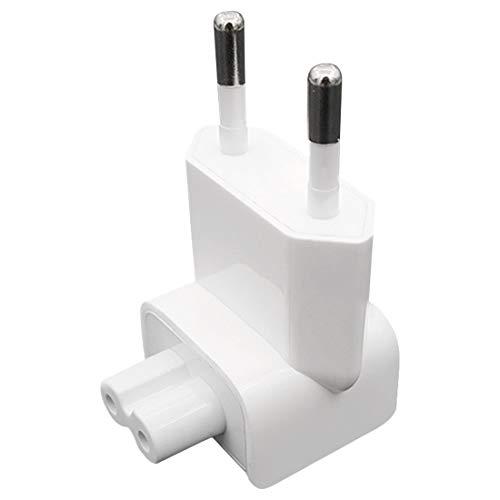 Chargeur AC Détachable Electrique Euro EU Plug Tête de Canard Adaptateur Chargeur USB Chargeur pour MacBook Power