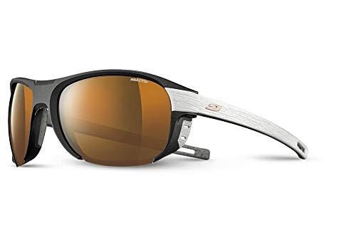 Julbo Regatta - Gafas de sol unisex para adulto, negro/gris, FR: L (talla fabricante: L)