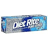 Diet Rite Soda, 12 Ounce (12 Cans)