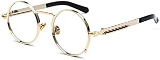 Unique Steampunk Lens Retro Metal Frame Sunglasses Women Men Eyewear Sun Glasses Mens Sunglasses Brand Tinize Outdoor Protection Vintage Sport Sunglasses