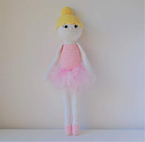 Poupée peluche 40cm crocheté main Amigurumi Marshmallow Toys