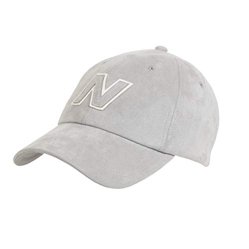 New Balance Men's and Women's Block N 6-Panel Curved Brim Hat