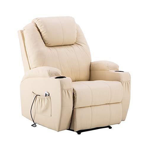MCombo 7061 - Sedia elettrica per massaggio,...