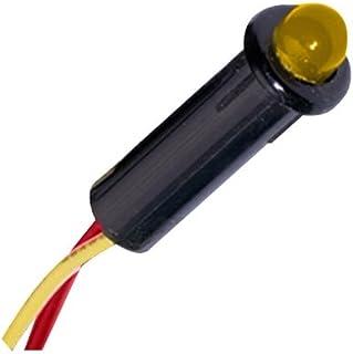 "PANELTRONICS Paneltronics <sup>5</sup>⁄<sub>32</sub>"" LED Indicator Light - 12-14VDC - Amber / 001-204 /"