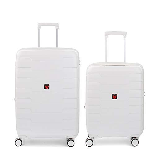 RONCATO Skyline - Juego de 2 maletas rígidas ampliables (medio + cabina) Coco
