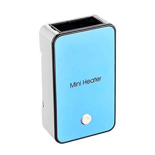 CVBN H1 Calentador de Ventilador eléctrico portátil de Mano Calentador de hogar Calentador de máquina, Azul