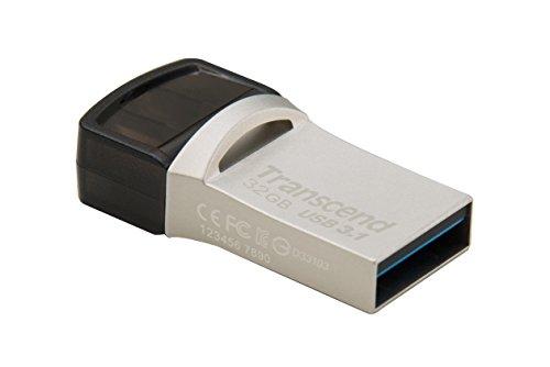 Transcend JetFlash 890 32GB USB Type-C zu USB 3.1 Gen 1 Dual Connector USB OTG Flash Drive für Android TS32GJF890S