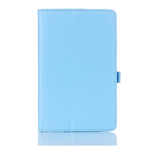 QiuKui Tab Funda para Samsung Galaxy Tab 2 7.0 Pulgadas, Stand de Piel magnética Inteligente de Cuero de la PU para Samsung Galaxy Tab 2 7.0 Inch GT-P3100 P3110 (Color : Blue)