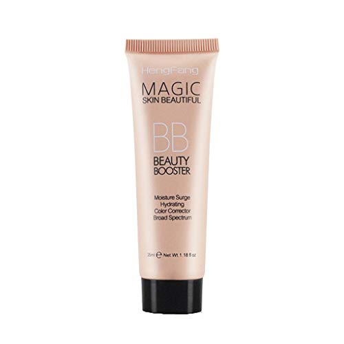 BB Cream, 5 in 1 Day BB Cream 24h Moisture (20+15 ml), BB Cream for Light Skin Types with SPF 20, Tinted Day Cream with Organic Jojoba Oil & Makeup Pigments (A)