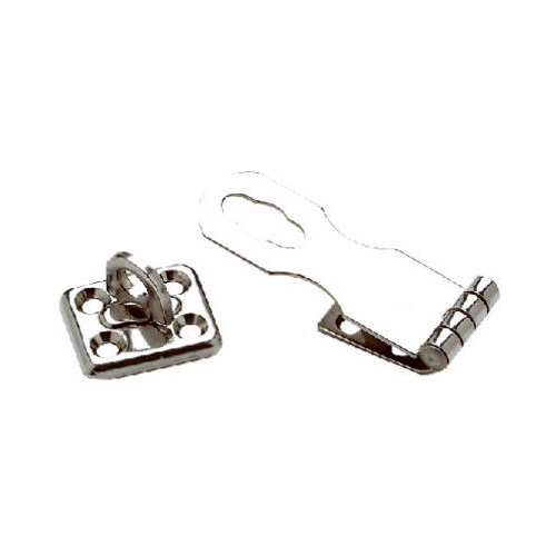 Seachoice Swivel Eye Safety Hasp Stainless Steel 1 In. X 2-3/4 In.