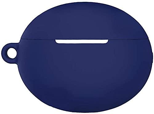 HUIHUIGE Earbud Cushion Funda Protectora Protector de Funda de Silicona para Huawei Freebuds 4i Auriculares Azul Azul-Azul Claro Gorgeous