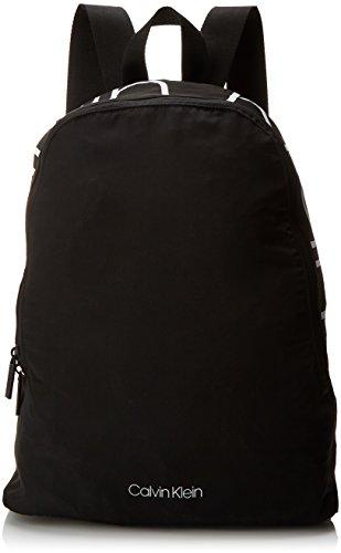 Calvin Klein Jeans - Item Story Backpack, Mochilas Hombre, Negro (Black), 13x43x33 cm (B x H T)