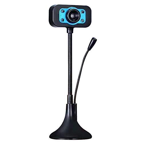 Openuye digitale externe camera met microfoon nachtzichtcamera's voor videoconferentie, Blauw
