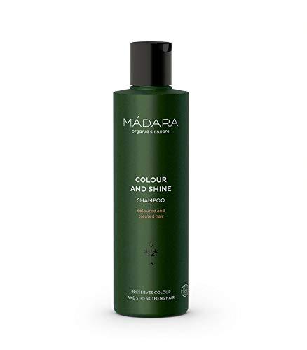MÁDARA Organic Skincare | Farb- und Glanzshampoo - 250ml, Mit Nördlicher Brennessel und Quitte, Farberhaltend, kräftigend, Vegan, Ecocert-zertifiziert, Recyclebare Verpackung.