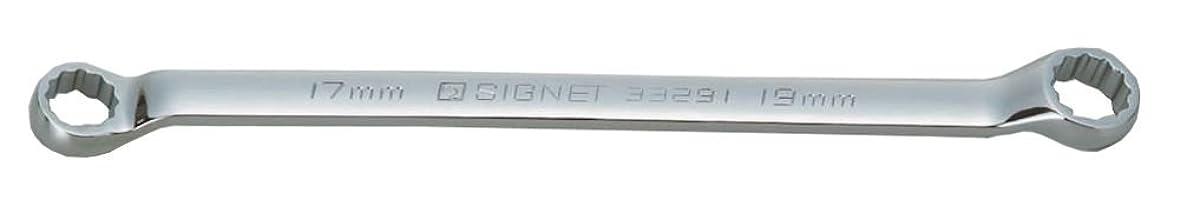 欠乏受粉するブースシグネット 17X19 45゜メガネレンチ(コンパクトタイプ) 33291