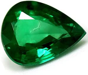 Los Angeles Mall GemsNY GIA Certified 2.46 Natural Carat free shipping Pear Emerald
