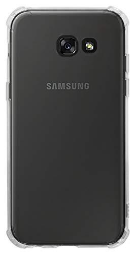 SHUNDA Capa para Samsung Galaxy A5 (2017), capa ultrafina transparente de silicone macio TPU com absorção de choque, capa transparente e flexível para Samsung Galaxy A5 (2017)/A520F - Transparente 04