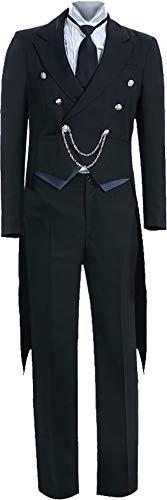 GSFDHDJS Littlebear Cosplay Kostum for Black Butler Sebastian Michaelis