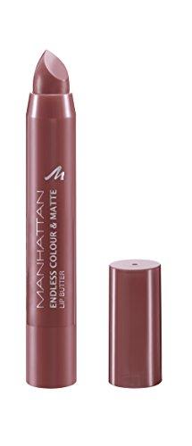 Manhattan Endless Colour & Matte Lip Butter – Lippenstift mit langanhaltendem Matt-Effekt in Lila – Farbe Verry Berry 950 – 1 x 3g