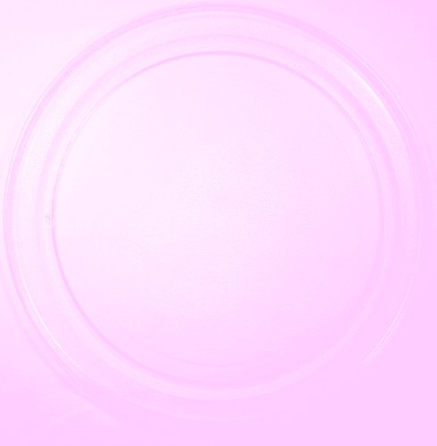 Mikrowellenteller / Drehteller / Glasteller für Mikrowelle # ersetzt Cinex Mikrowellenteller # Durchmesser Ø 36 cm / 360 mm # Ersatzteller # Ersatzteil für die Mikrowelle # Ersatz-Drehteller # OHNE Drehring # OHNE Drehkreuz # OHNE Mitnehmer