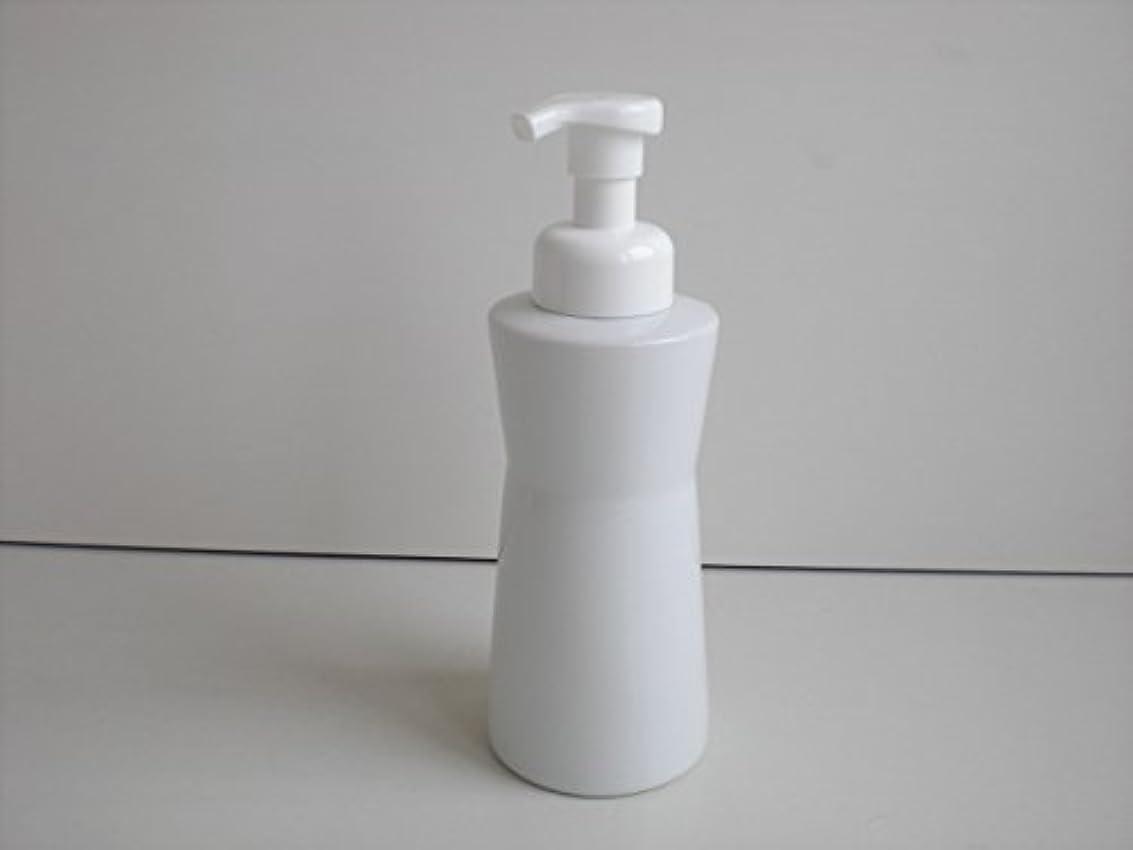 ラインナップ始めるメディア泡ポンプ 泡ボディ ホワイトガーデンムースボディポンプ  500ml 白磁器