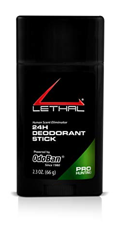 Find Bargain LETHAL ProHunting 24 Hours Deodorant Stick, 2.3-Ounce