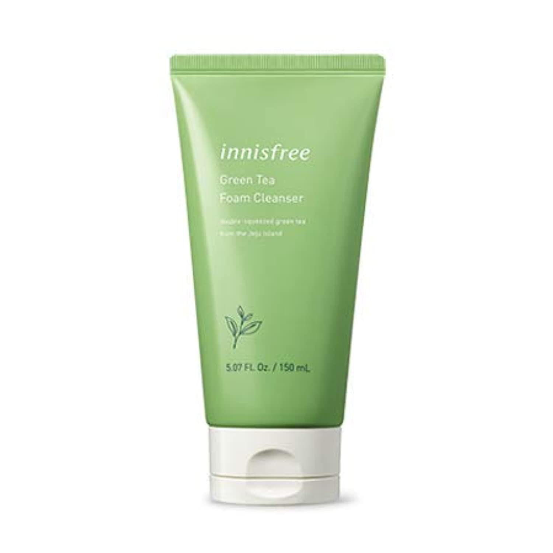Innisfree グリーンティーフォームクレンザー/Green Tea Foam Cleanser 150ml [並行輸入品]
