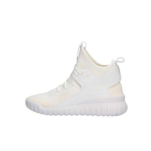 adidas Tubular X PK J, Zapatillas de Gimnasio Unisex niños, Bianco Ftwwht Ftwwht Vinwht, 38 2/3 EU