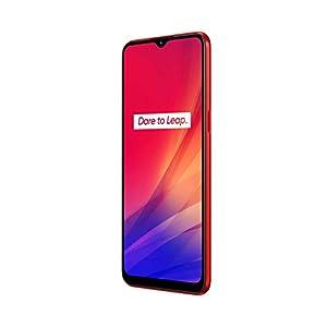 """Realme C3 - Smartphone de 6.5"""" LCD, 3 GB RAM + 64 GB ROM, Helio G70 OctaCore, Batería de 5000mAh, Cámara Dual AI 12MP, Dual Sim, Color Blazing Red [Versión ES/PT]"""