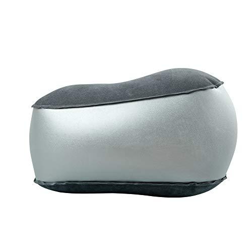 DRIVETRAVEL空気フットレスト足置き携帯用旅行用移動中やオフィスなど足のリラックスに(ダークグレー)