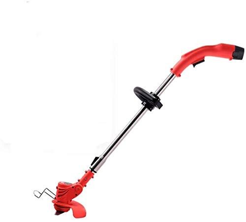 Podadora/bordeadora/mini del cortacésped eléctrico sin cuerda de la Segadora Gradas del hogar Pequeño multifunción Césped Trimmer (Cabeza de corte de plástico * 5) SHIYUE