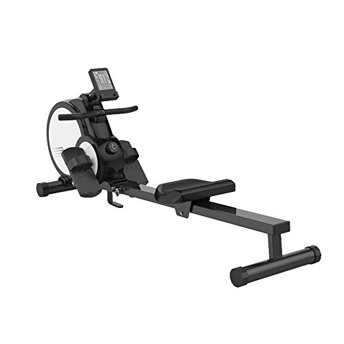XBSLJ Foldable Rowing Machines Rowing Machine for Home Use Foldable Silent Magnetic Control, Aerobic Exercise Fitness Equipment, Male and Female Weight Loss Muscle Training Water Rowing Machine