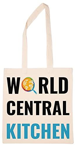 Enigmae World Central Kitchen Reutilizable Compras Tienda de Comestibles Algodón Bolsa Reusable Shopping Bag