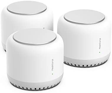 Meshforce M7 Tri Band Whole Home Mesh WiFi System 3 Pack Gigabit Mesh WiFi Routers Seamless product image