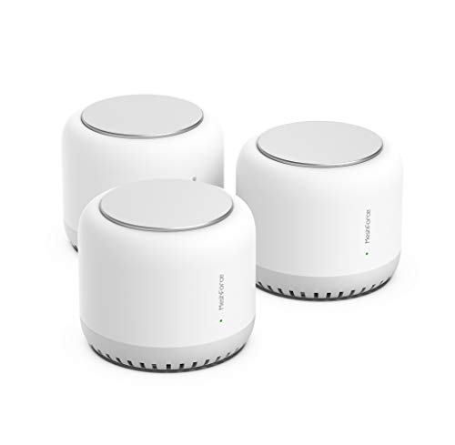 Meshforce M7 Tri-Band Whole Home Mesh WiFi System (3 Pack), Gigabit Mesh WiFi Routers, Seamless High Performance Wireless Covers 7+ Rooms and 75+ Devices (3 Pack)