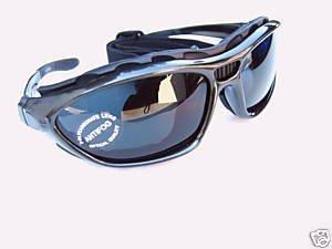 Alpland Sport Sonnenbrille Skibrille Schutzbrille Bergbrille/Gletscherbrille mit Band und Bügel