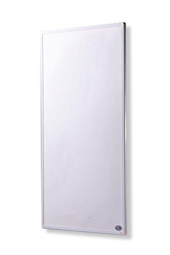 Infrarot Heizung mit Digitalthermostat 130, 300, 450, 600, 800, 1000 Watt Elektroheizung mit Stecker - 5 Jahre Herstellergarantie- Elektroheizung mit Überhitzungsschutz - Heizt wie die Sonne (130 Watt)