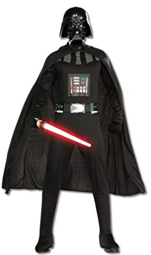 Rubies Disfraz de Darth Vader de Star Wars para adultos, color negro,...