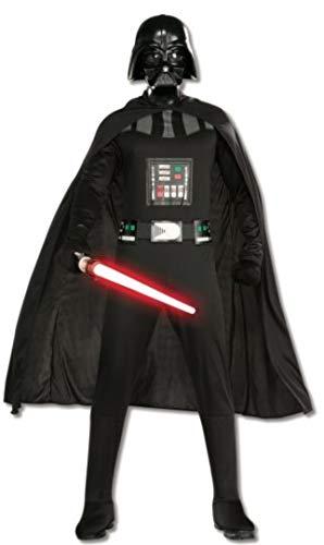 Rubies Disfraz de Darth Vader de Star Wars para adultos, color negro, talla XL