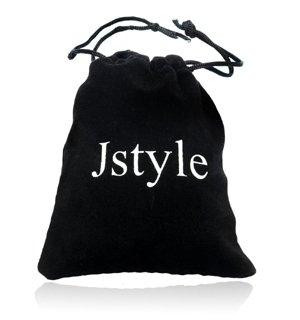『Jstyle[ジェイスタイル]【12色12ペアセット】レディース ピアス CZジルコニア スタッドピアス イヤリング 金属アレルギー対応 サージカルステンレス316L製 (サイズ:4mm)』の5枚目の画像