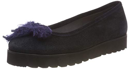 Marc O'Polo Ballerina, Damen Ballerinas, Blau (Navy 890), 37 EU (4 UK)