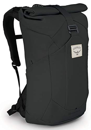 Archeon 25 Men's Roll Top Backpack, Stonewash Black