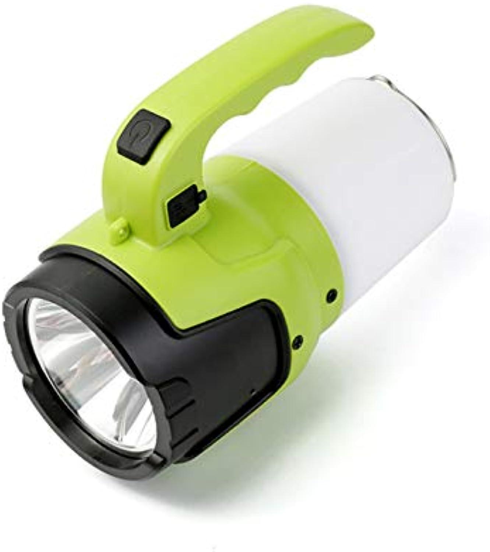 LIANGJING Outdoor Multifunktions Camping Licht USB Lade LED Scheinwerfer Blendung Taschenlampe