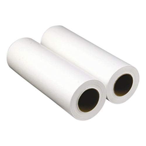 Headrest Paper Rolls by ScripHessco, Pack of 25-8.5 inches x 225 feet - Disposable Chiropractic and Medical Exam Table Face Rest Paper - Standard Smooth Finish - Provide Clients with a Clean Surface